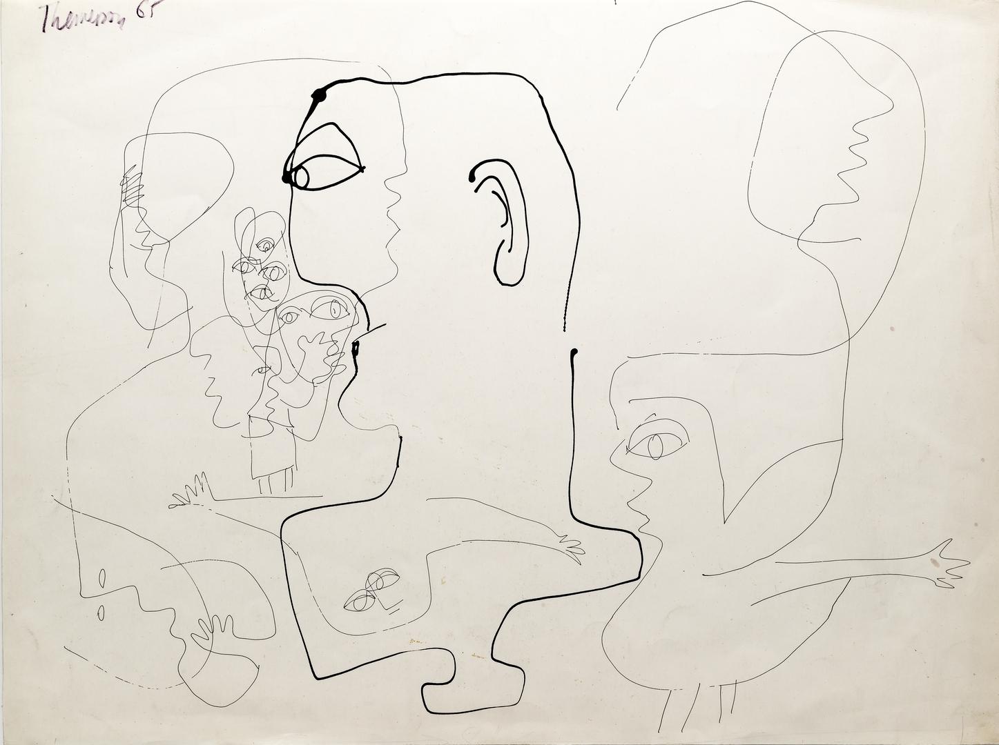 D65.2 Drawing, Listening Head