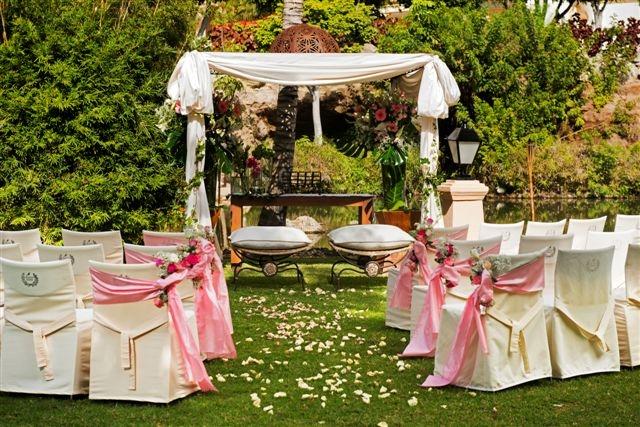 Different ceremony set up
