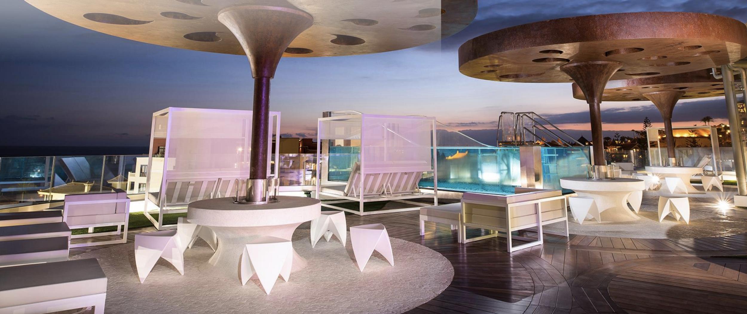 Sky bar with fantastic views