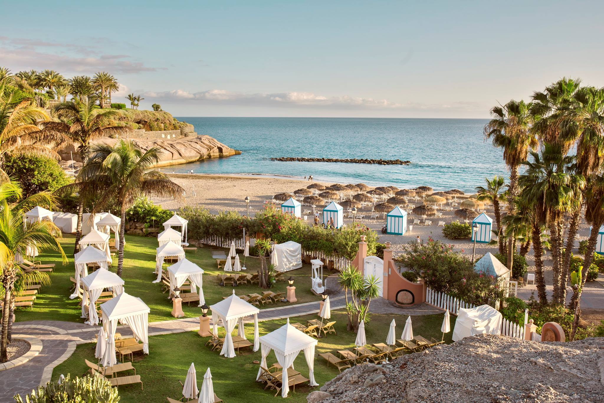 The most beautiful beach in Tenerife is just a few steps away
