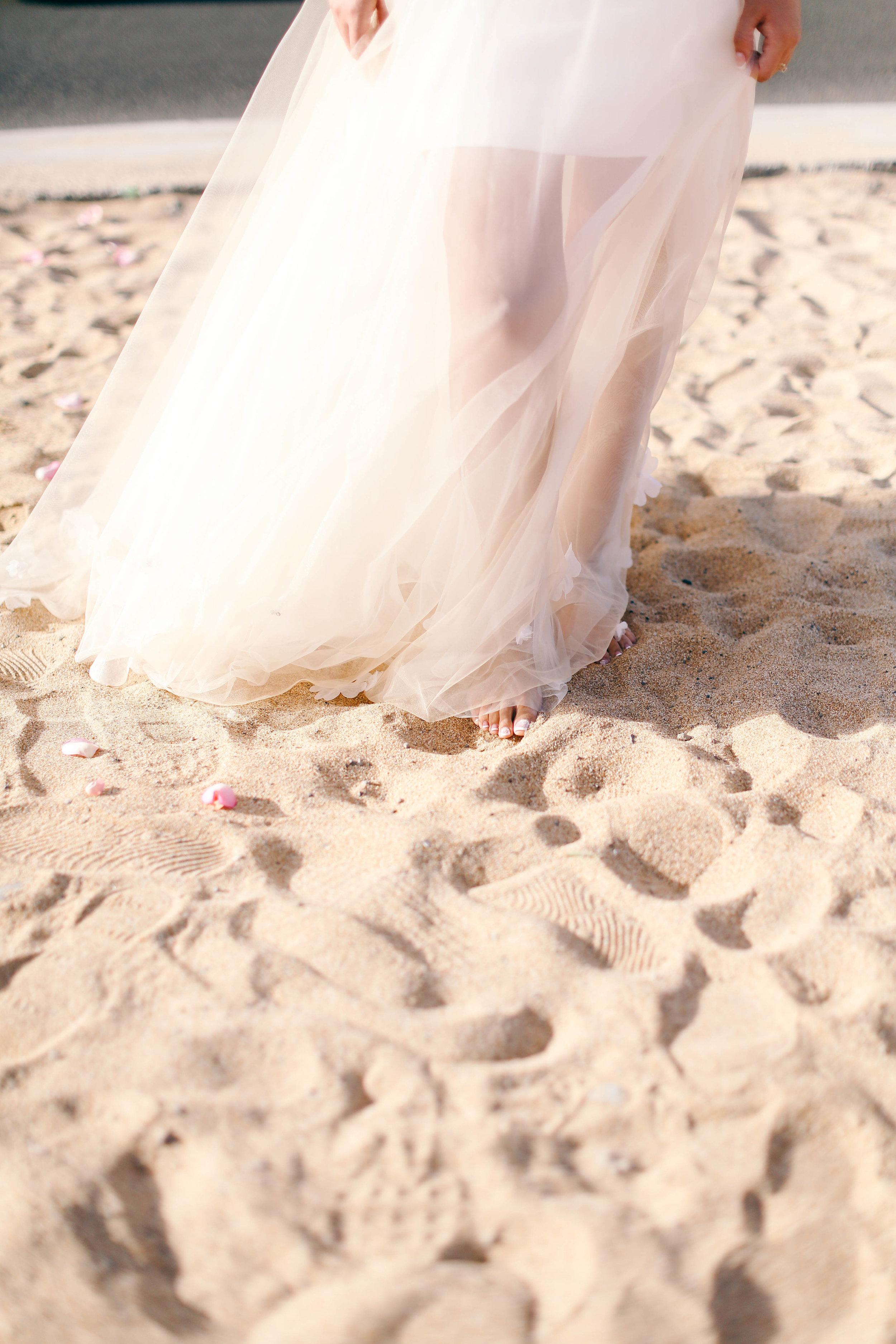 Barefoot wedding dream