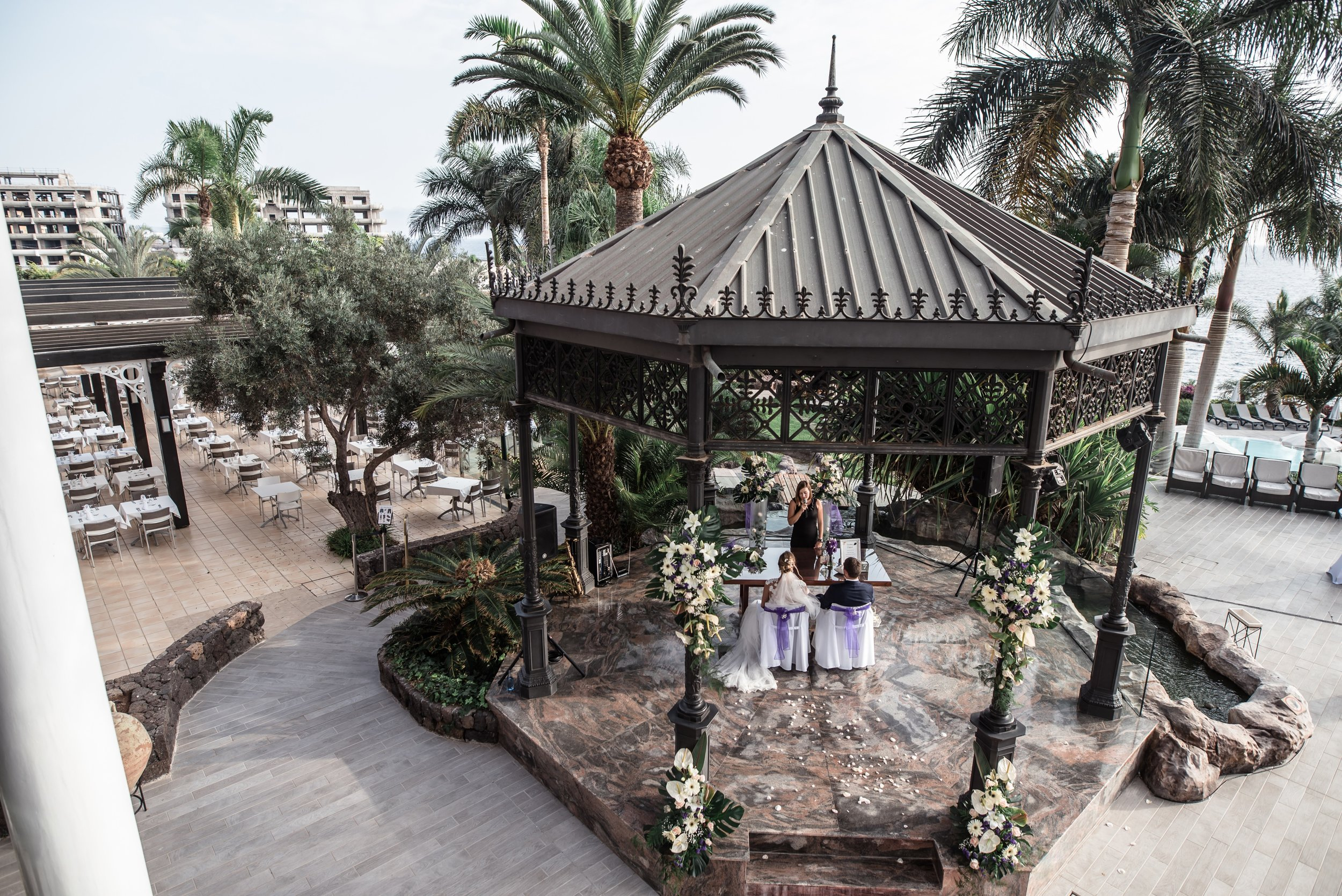 Ceremony place - beautiful gazebo