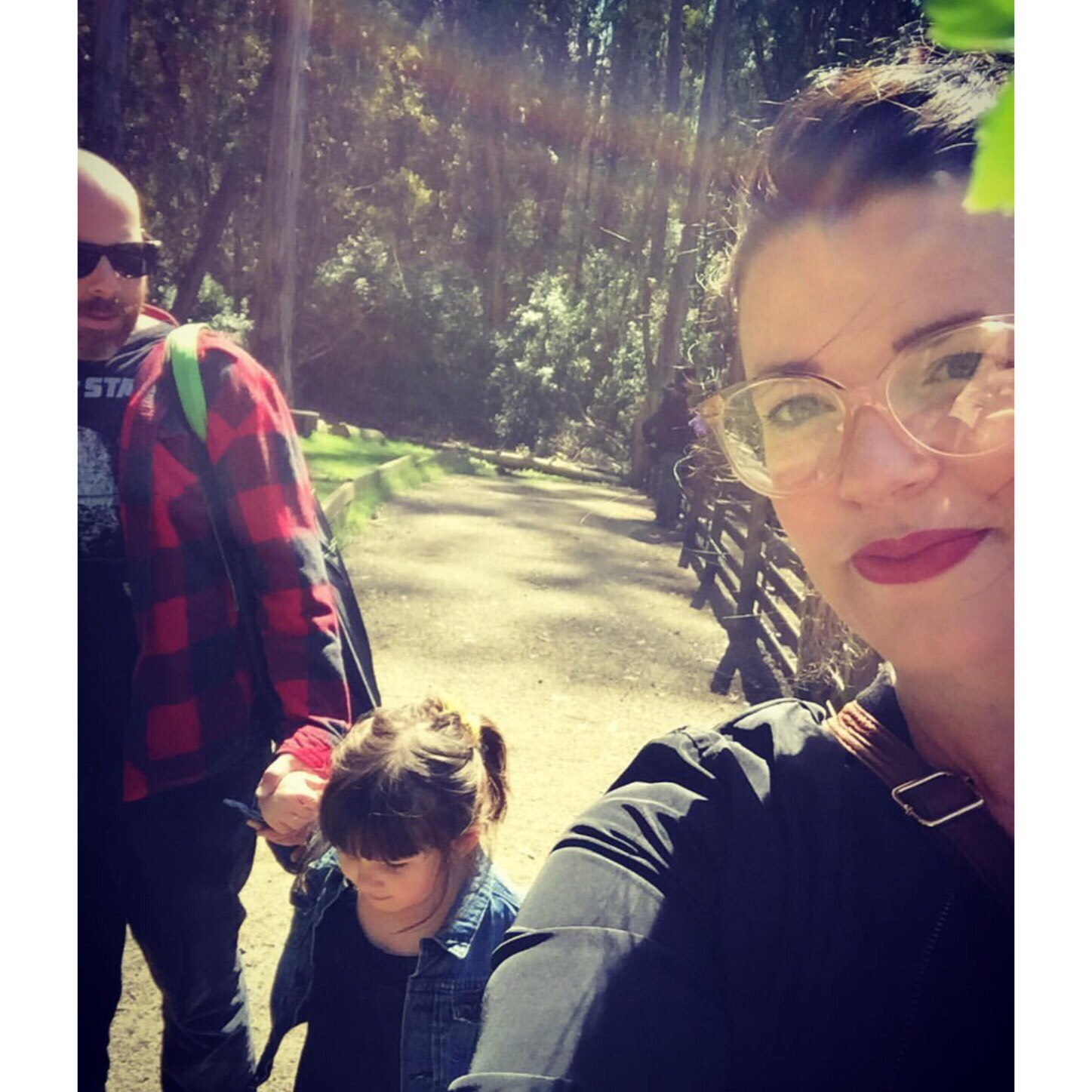 Joanna with her husband Evan and their daughter Marlowe. (Credit: Joanna Medeiros)