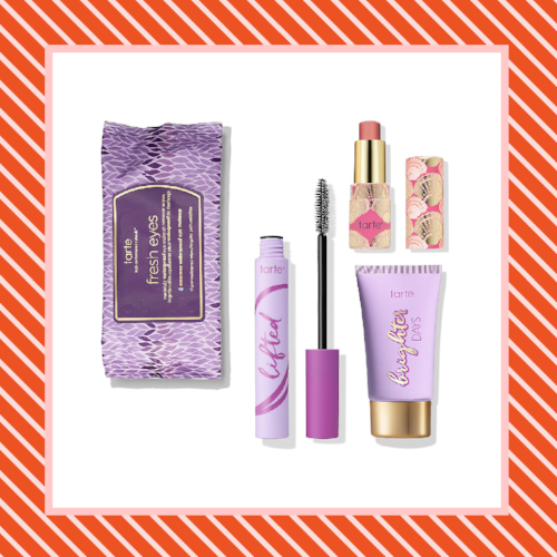 Products for a Better Morning Tarte Gym Bag Essentials