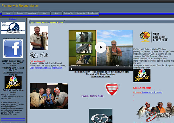Fishing With Roland Martin TV