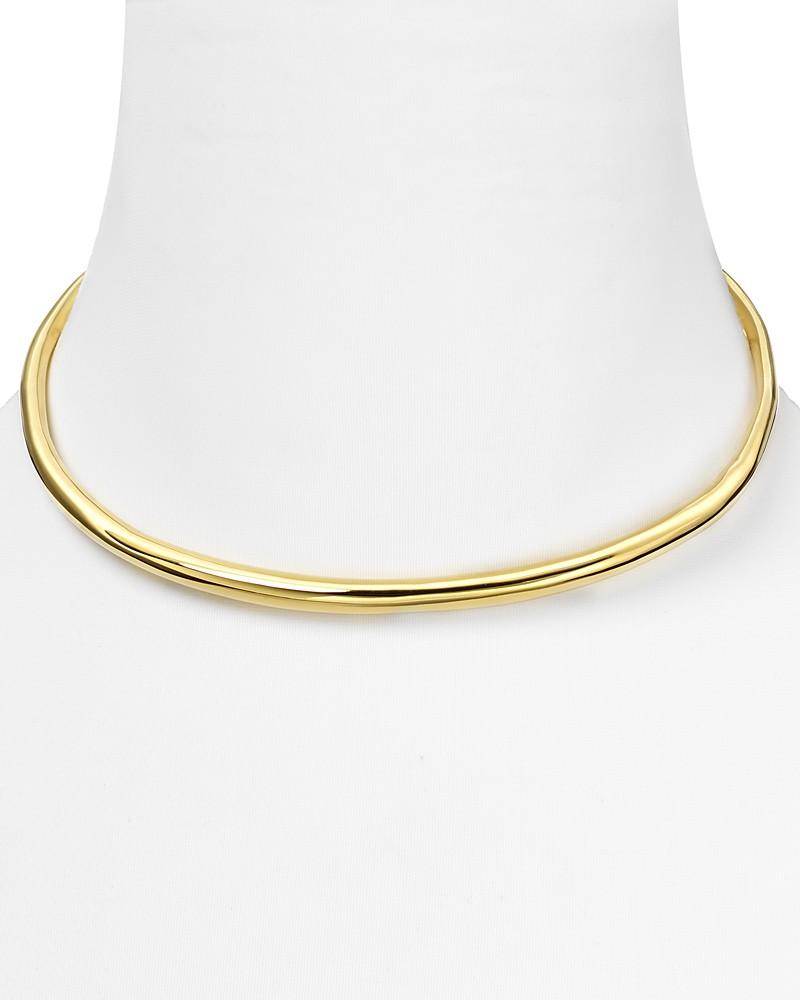 Alexis Bittar gold collar