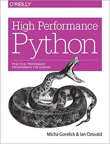 High Performance Python by Micha Gorelick & Ian Ozwald