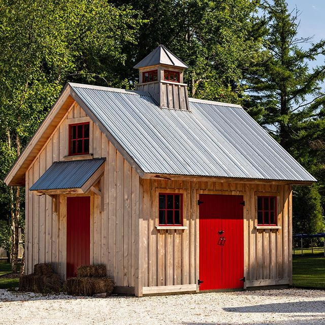 Add character to your property with artfully crafted outbuildings.