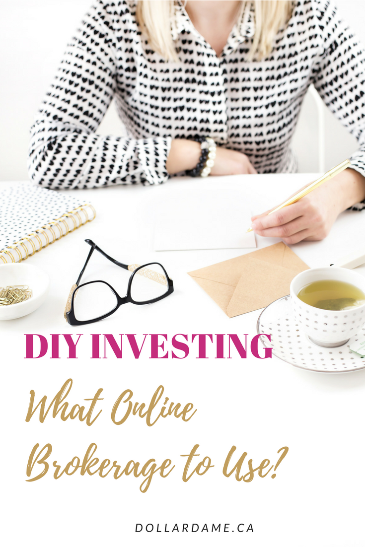 DIY Investing What Online Brokerage to Use