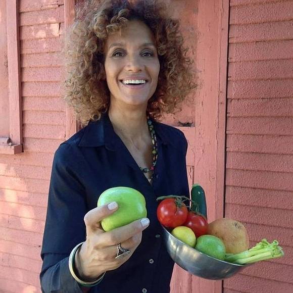 Angela Means, owner of Jackfruit Cafe