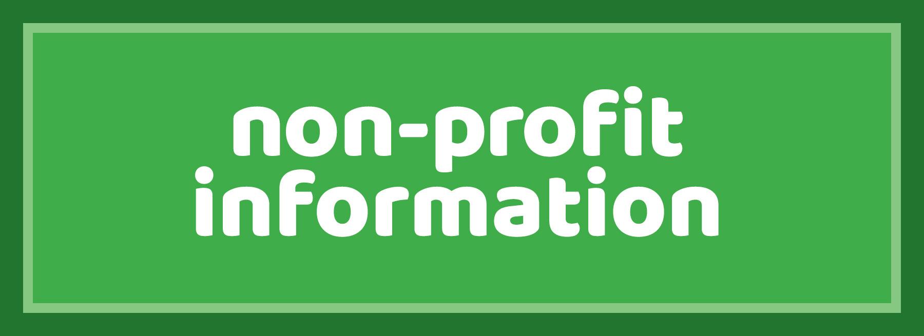 Non-Profit Information