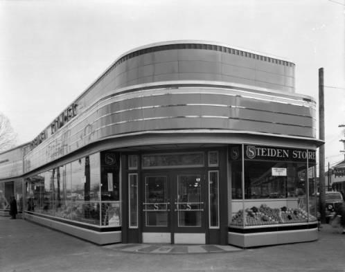 Steiden Store in the Douglass Loop - 1936