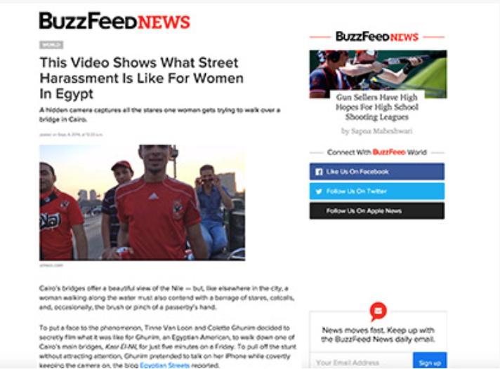 BUZZFEED NEWS | CREEPERS ON THE BRIDGE