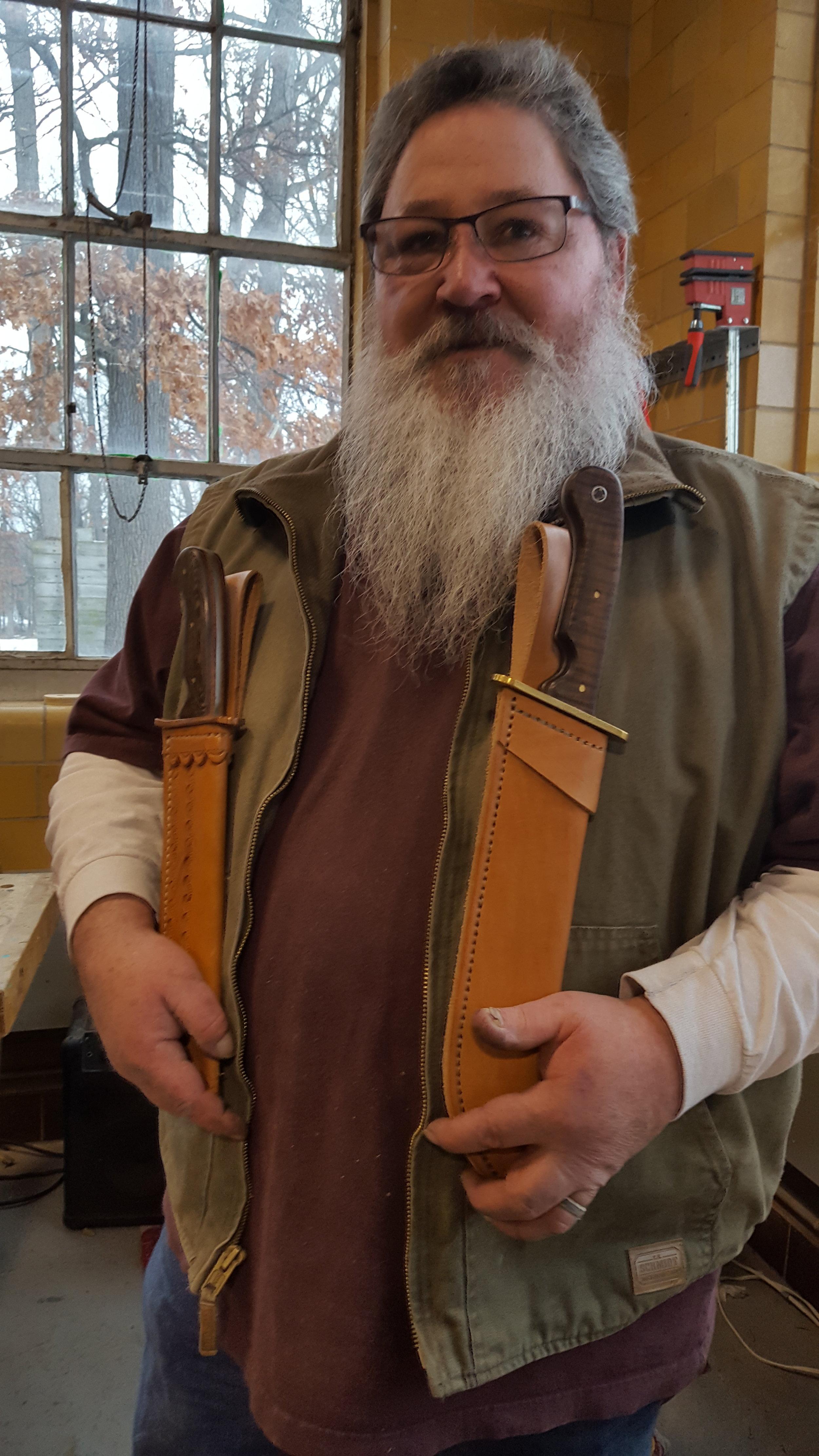 Patrick Estes: Knife Maker and Leatherworker