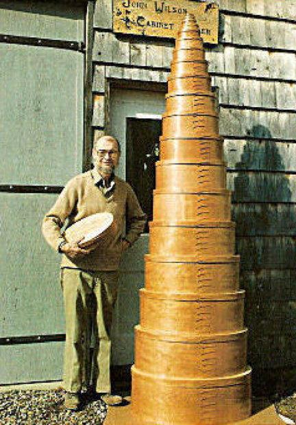 John Wilson Shaker Oval Boxes as Tall as a Man.jpg