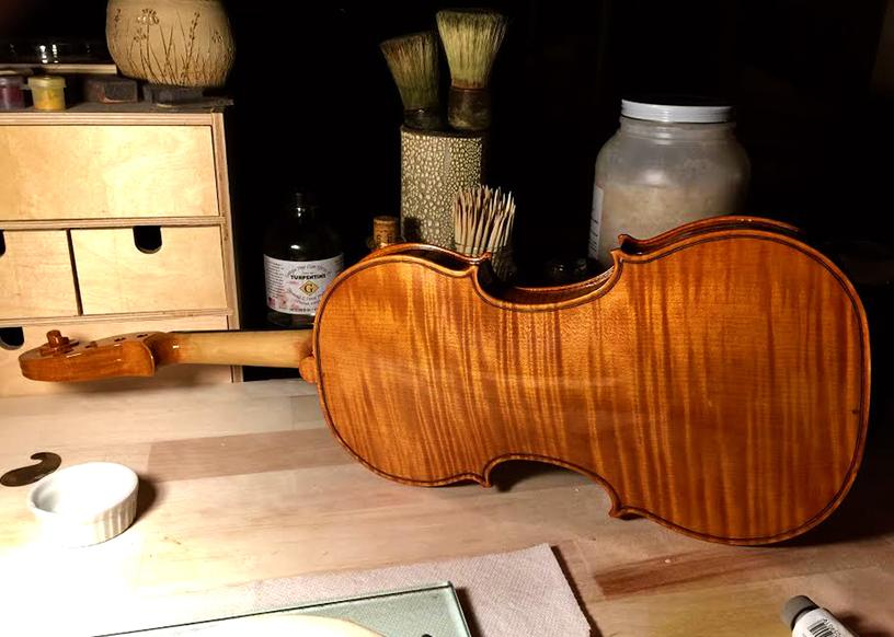 Michigan Violinmakers Association at the Great Lakes Woodworking Festival.jpg