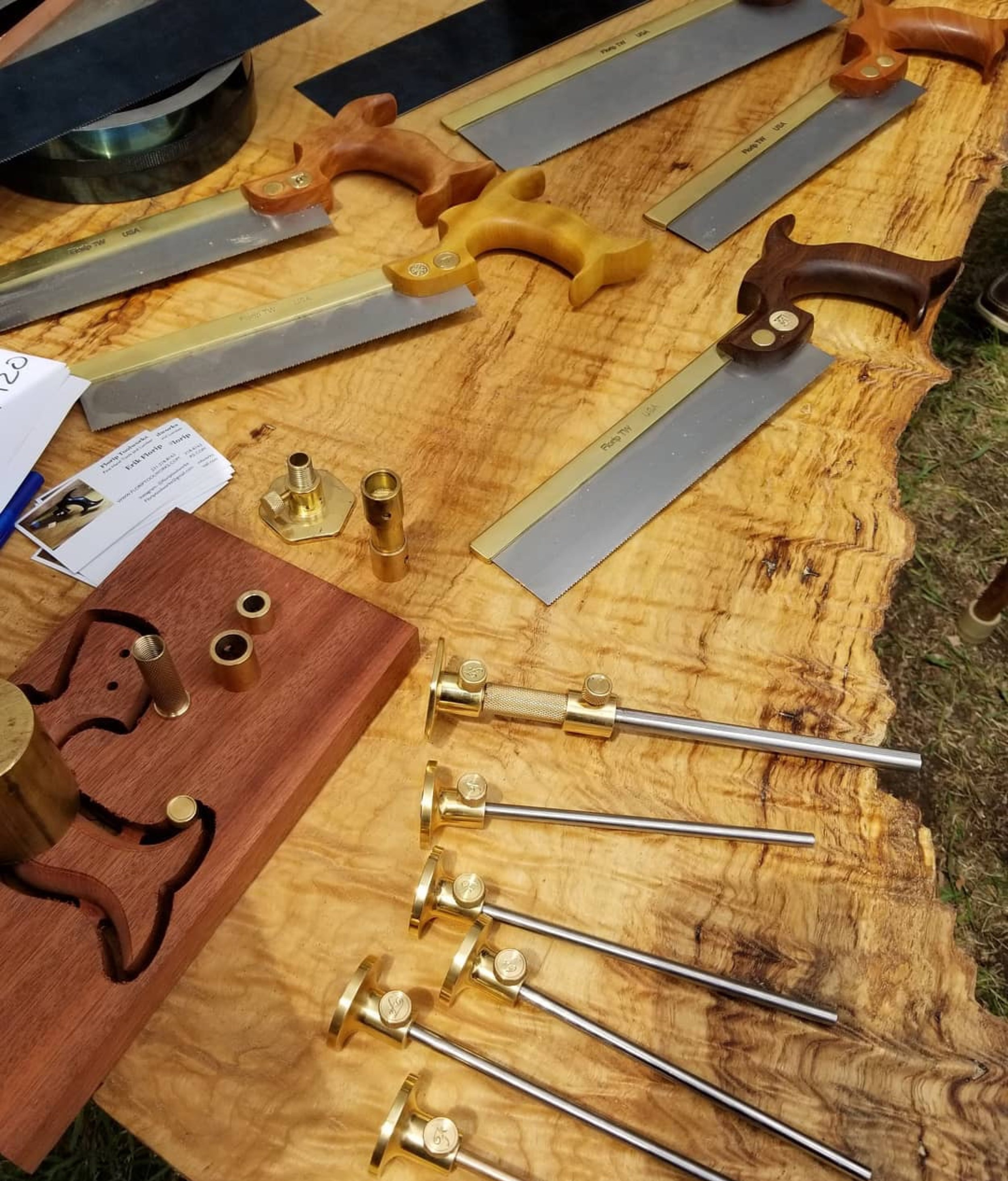 Erik+Florip+-+Toolmaker+at+the+Great+Lakes+Woodworking+Festival