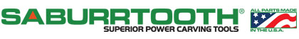 Saburrtooth Power Carving Tools - Sponsors of the Great Lakes Woodworking Festival.png