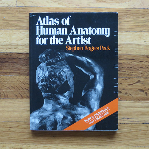 Atlas of Human Anatomy for the Artist - Stephen Rogers PeckGreat for learnign about each particular muscle group and how it works.