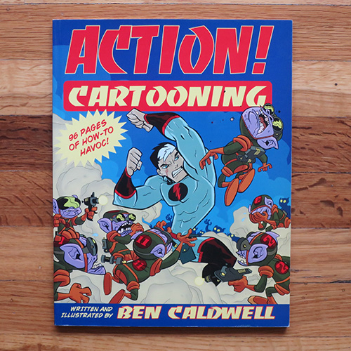 Fantasy Cartooning - Ben CaldwellI know Ben personally, and can say he's a great teacher. This book teaches the fundamental truths about character design in a delightful and charming way. A must have for cartoonists.