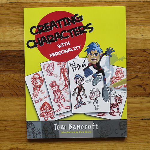 Creating Characters With Personality - Tom BancroftWhat's cool about this book is Bancroft got some of the best artists across a varied field of disciplines to design the same character. It's cool to see so many ways to design one character. You can learn a lot from it.