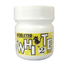 7D) Deleter Manga Ink - White 2   - Really opaque and good for editing areas, or just adding white in spots.