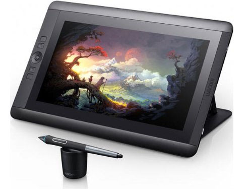 11C: Wacom Cintiq 13HD Interactive Pen Display - I use this for when I'm traveling and need to get some work done. It's such a great display I would make it my main Cintiq, except that I already have a big one. Works great with a laptop.