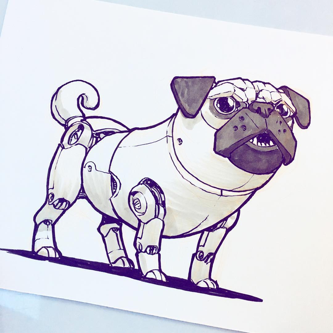 Robo-pug