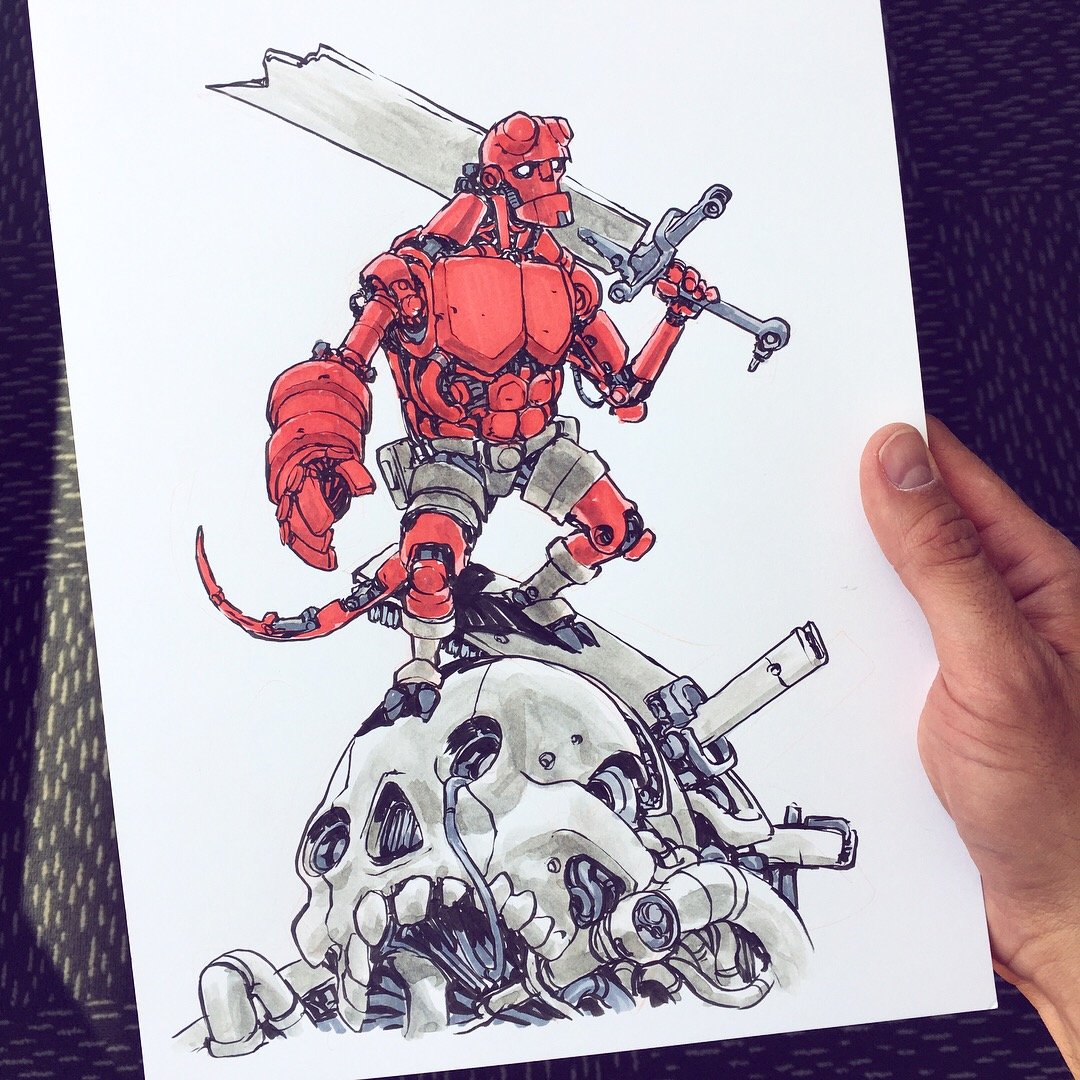 Hellboy Mech