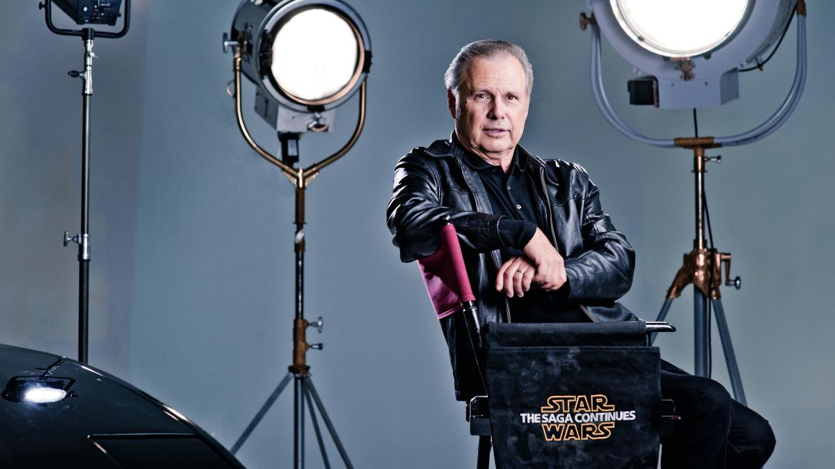 Todd Fisher, 60, at his production company in Las Vegas - Barry J Holmes