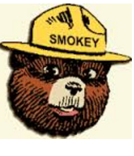 Click on Smokey for a    scalable topographic map.