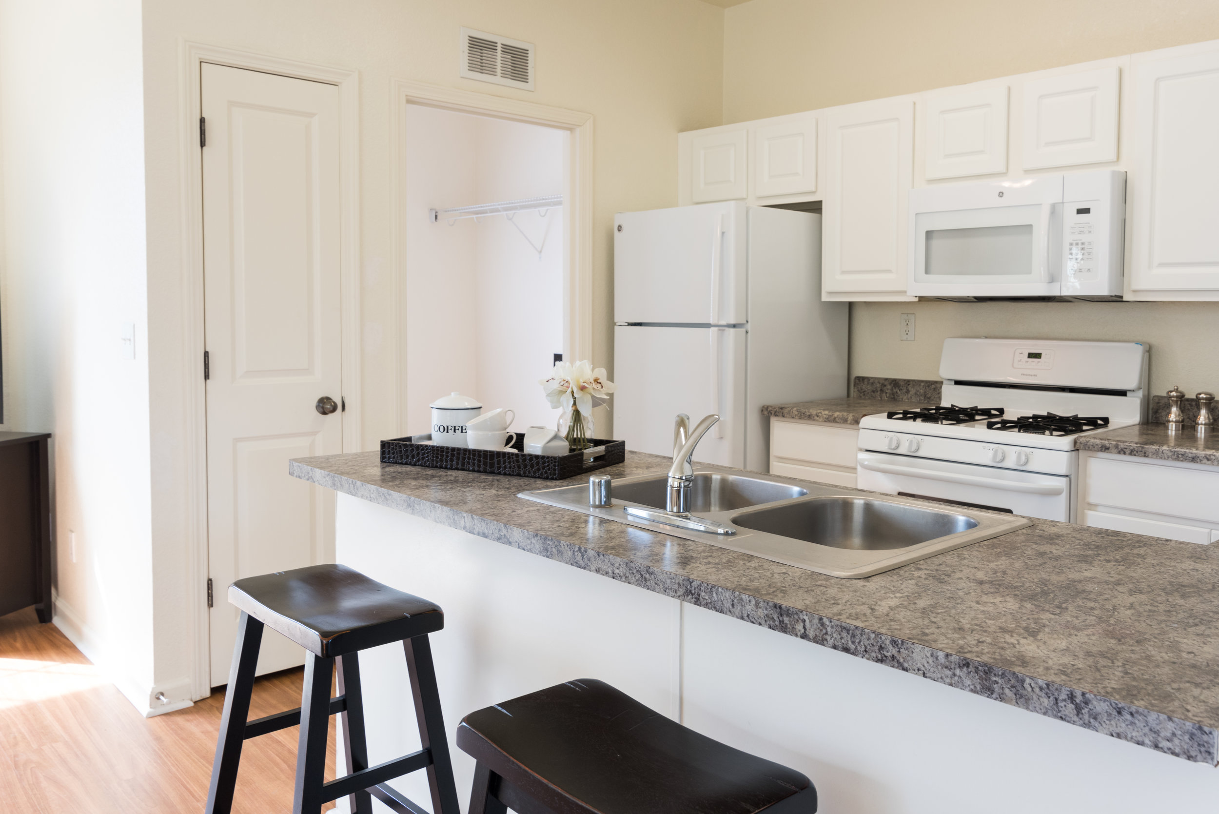 Open Kitchen in Rental Home