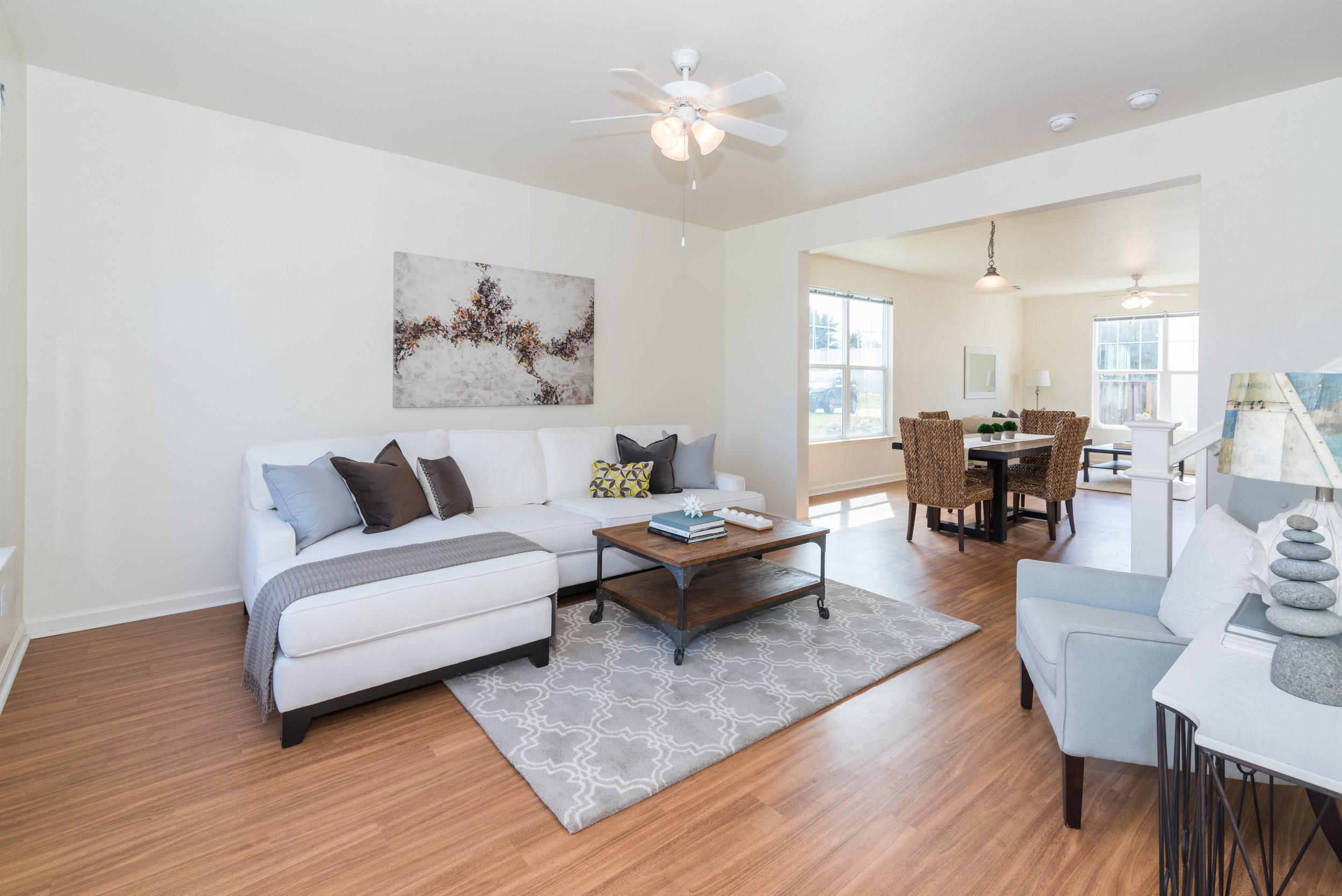 Living Room in Rental Home