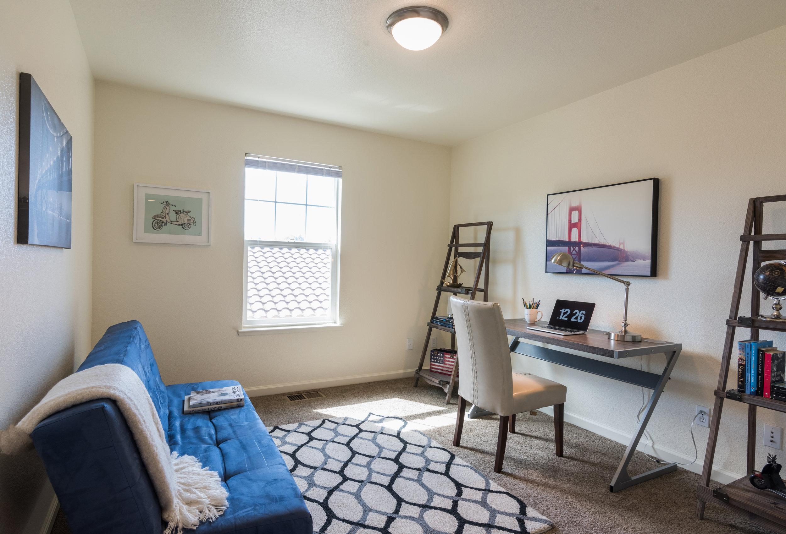 Third Bedroom in Rental Home