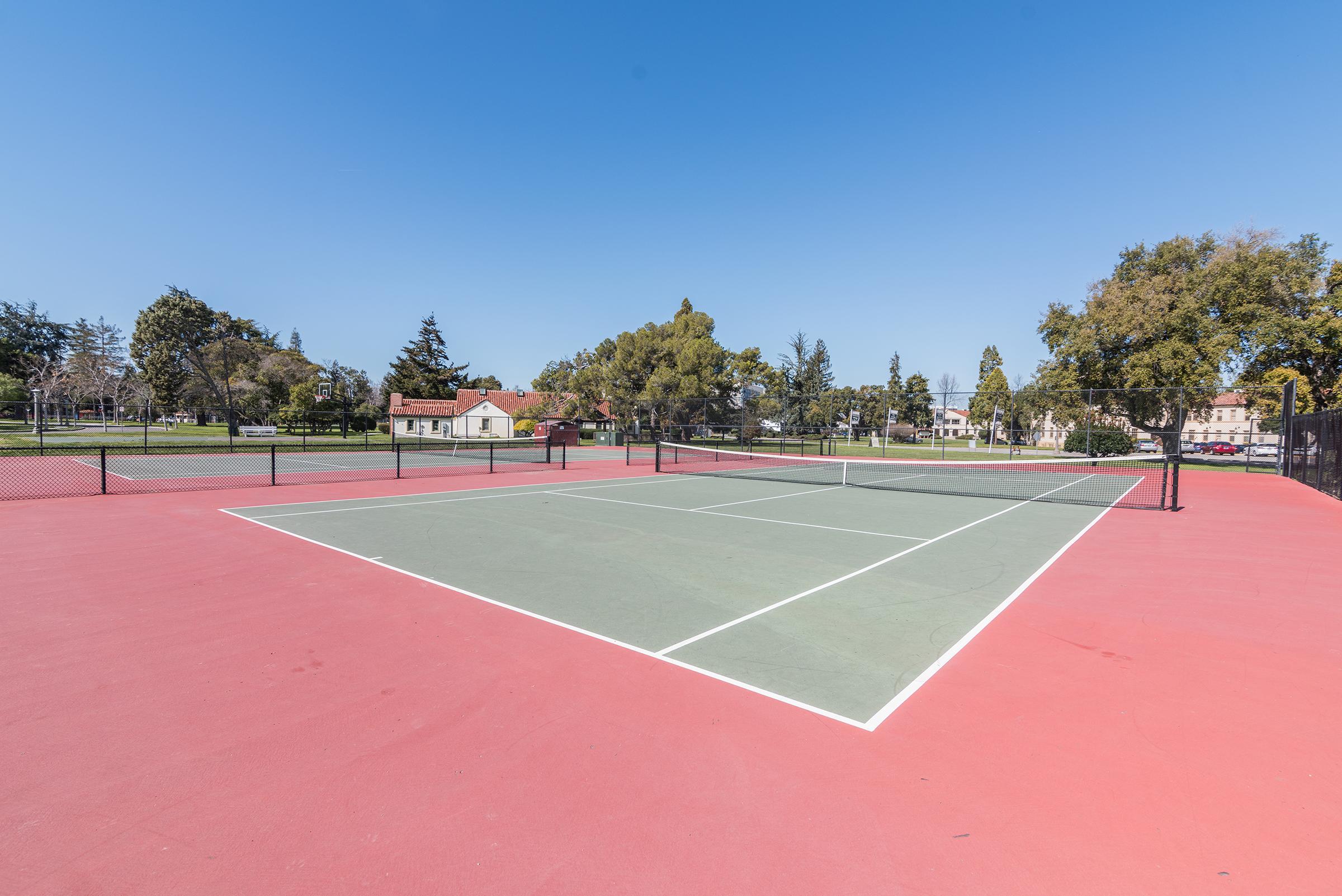 Apartment Community Tennis Courts