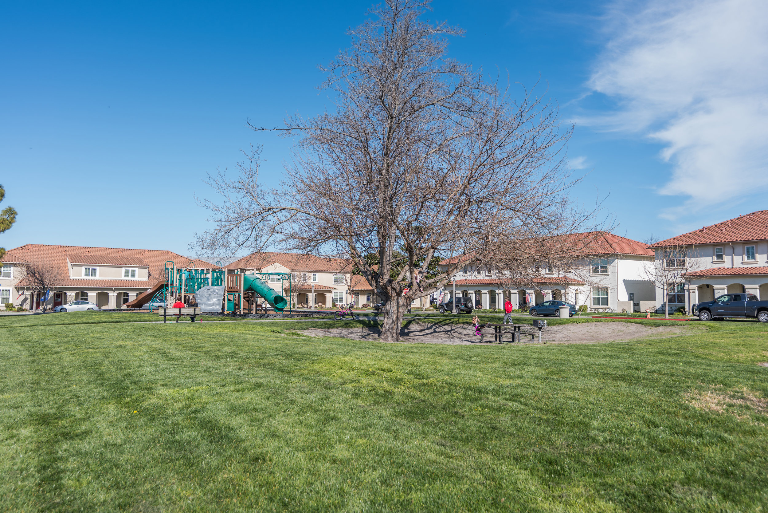 Townhome Community in Silicon Valley
