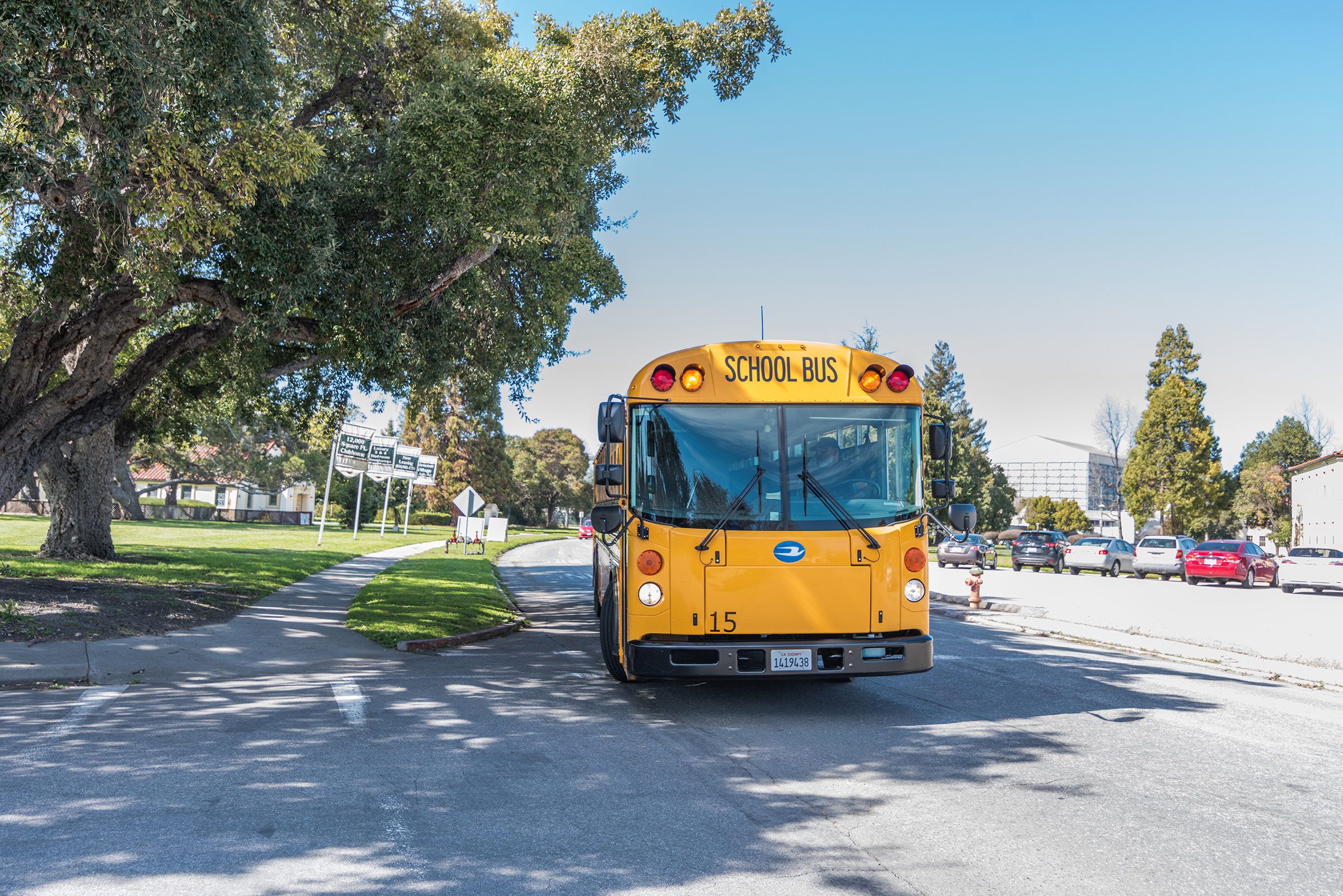 Community Bus Stop for Mountain View-Whisman School District