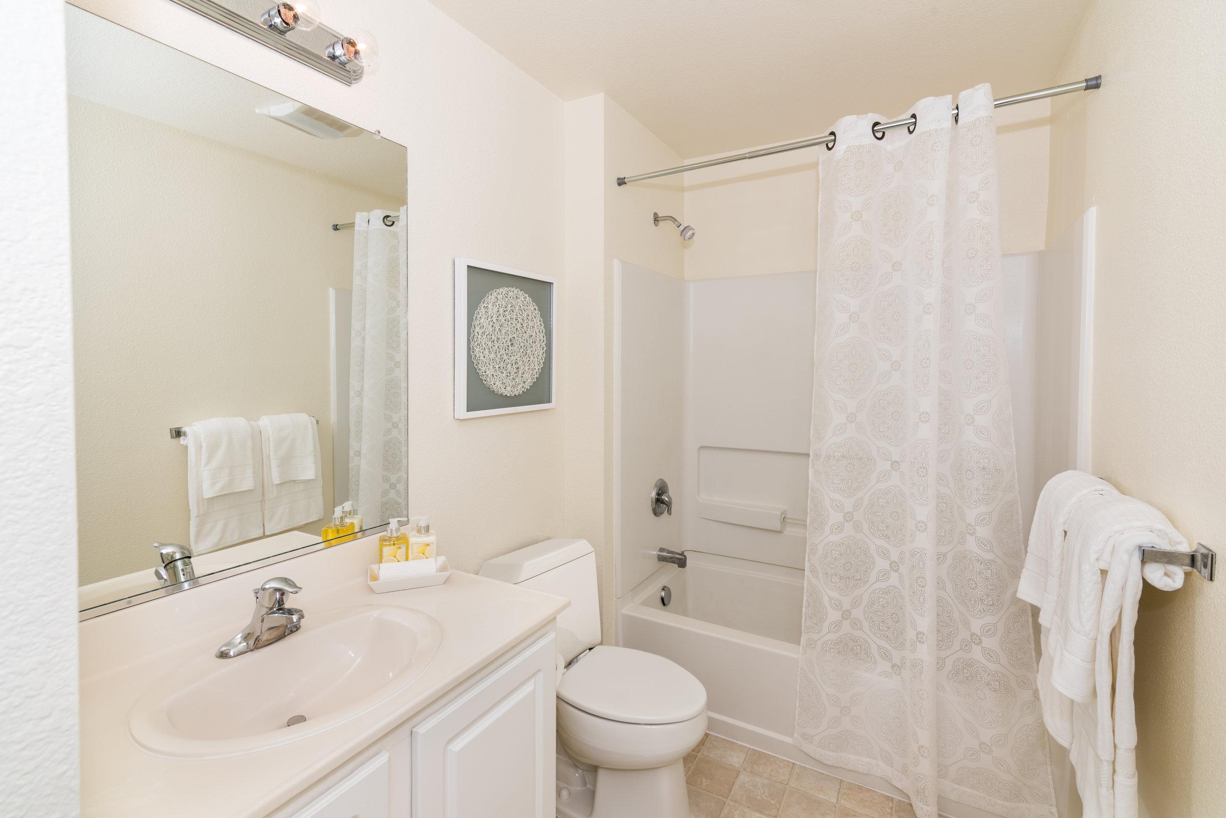 Bathroom in Rental Home