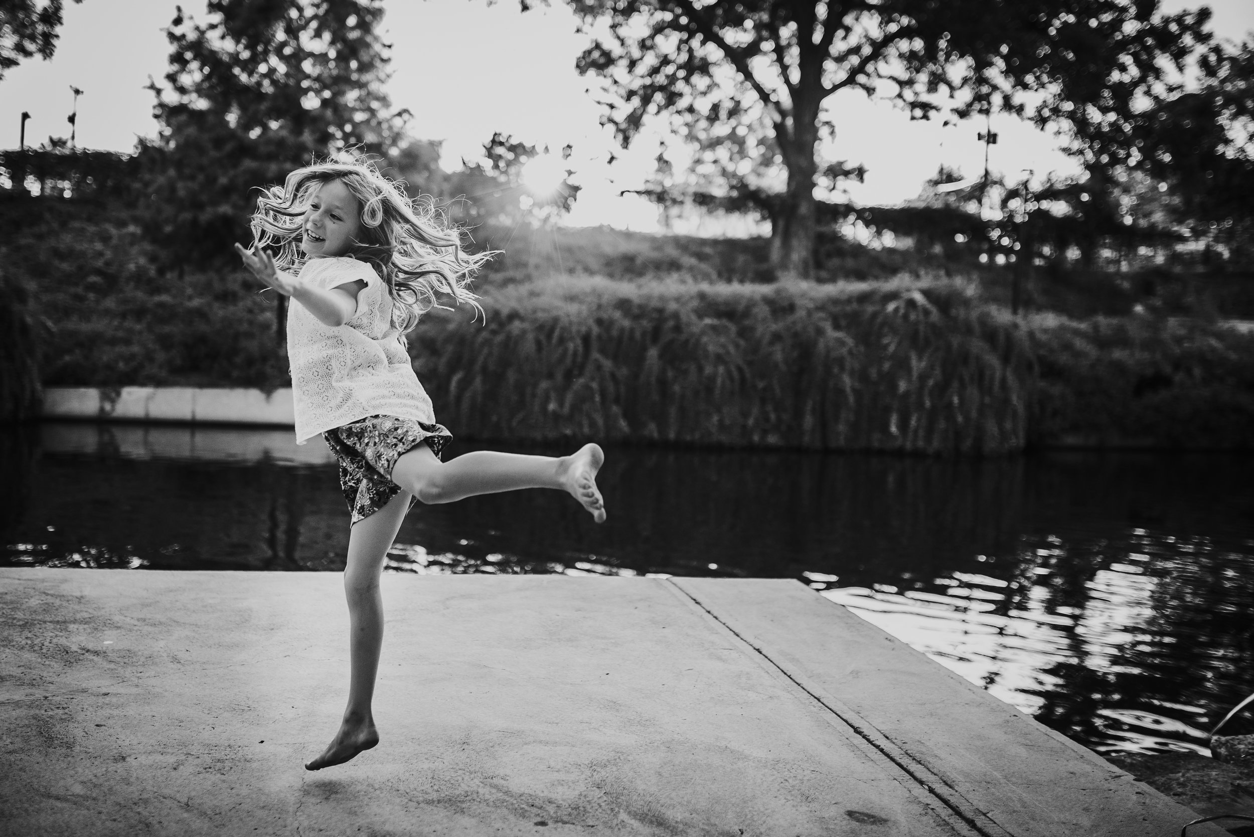Abby Kennan Photography-San Antonio Family Photographer-The Pearl Photo Session-San Antonio Child Photographer-The Historic Pearl Brewery-Dance-BW.jpg