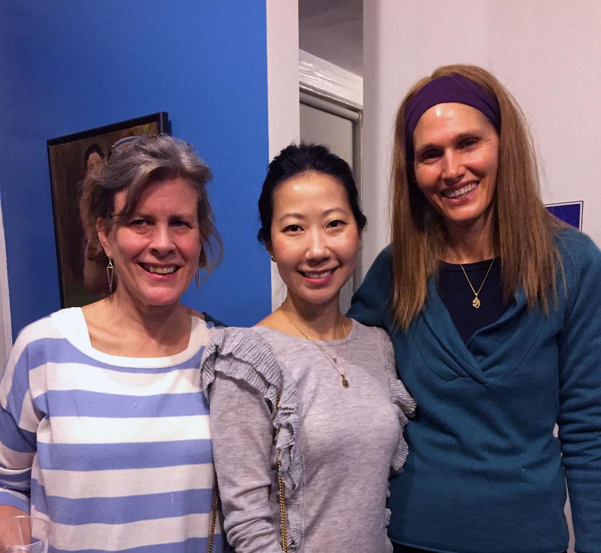 Amy, Liz and Carolan
