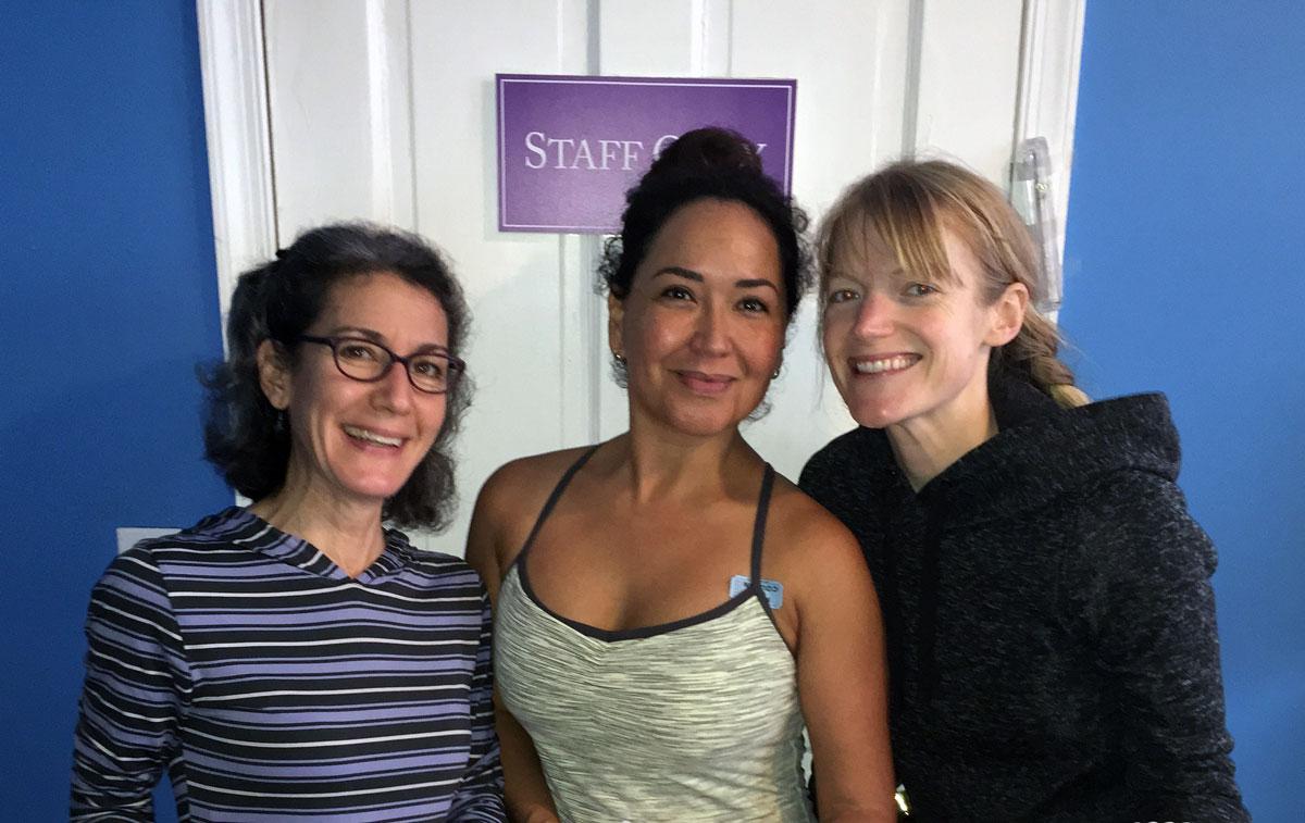Athena, Tina and Lauren