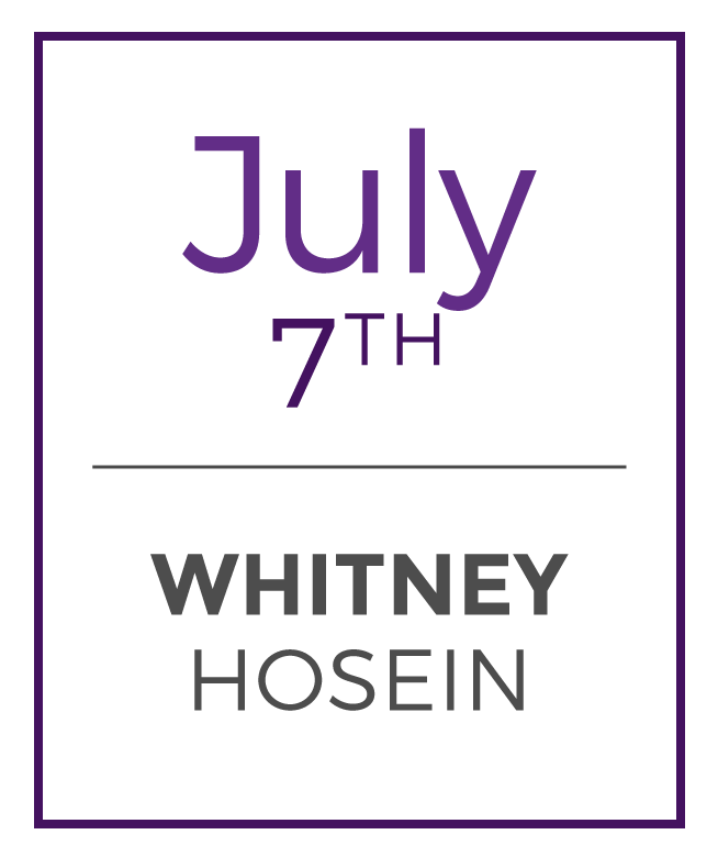 Whitney teaches at Hot Spot Dupont, Tenleytown Crunch Fitness, and Corporate Fitness Works