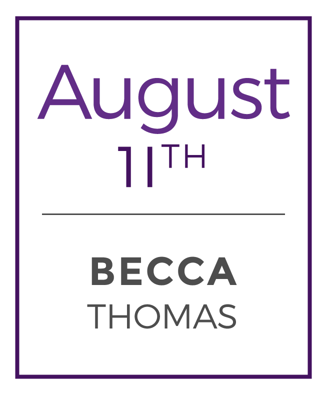 Becca teaches at Earth Treks Rockville, Yoga Heights, and Eaton DC