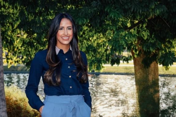 Sara Kamoei, past OneFuture Coachella Valley scholarship recipient
