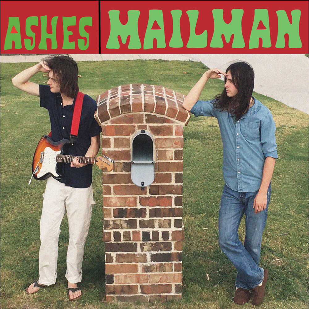 Title: Mailman  Ashes Third Single  Released: September 22, 2017  Mailman is a beat driven organ and guitar track with vocals.