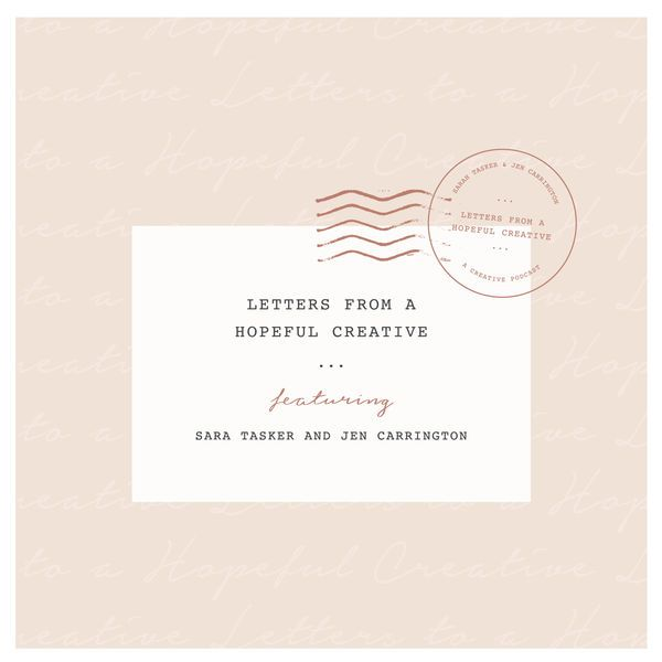 Letters From A Hopeful Creative - Some Amazing Podcasts To Help With Motivation