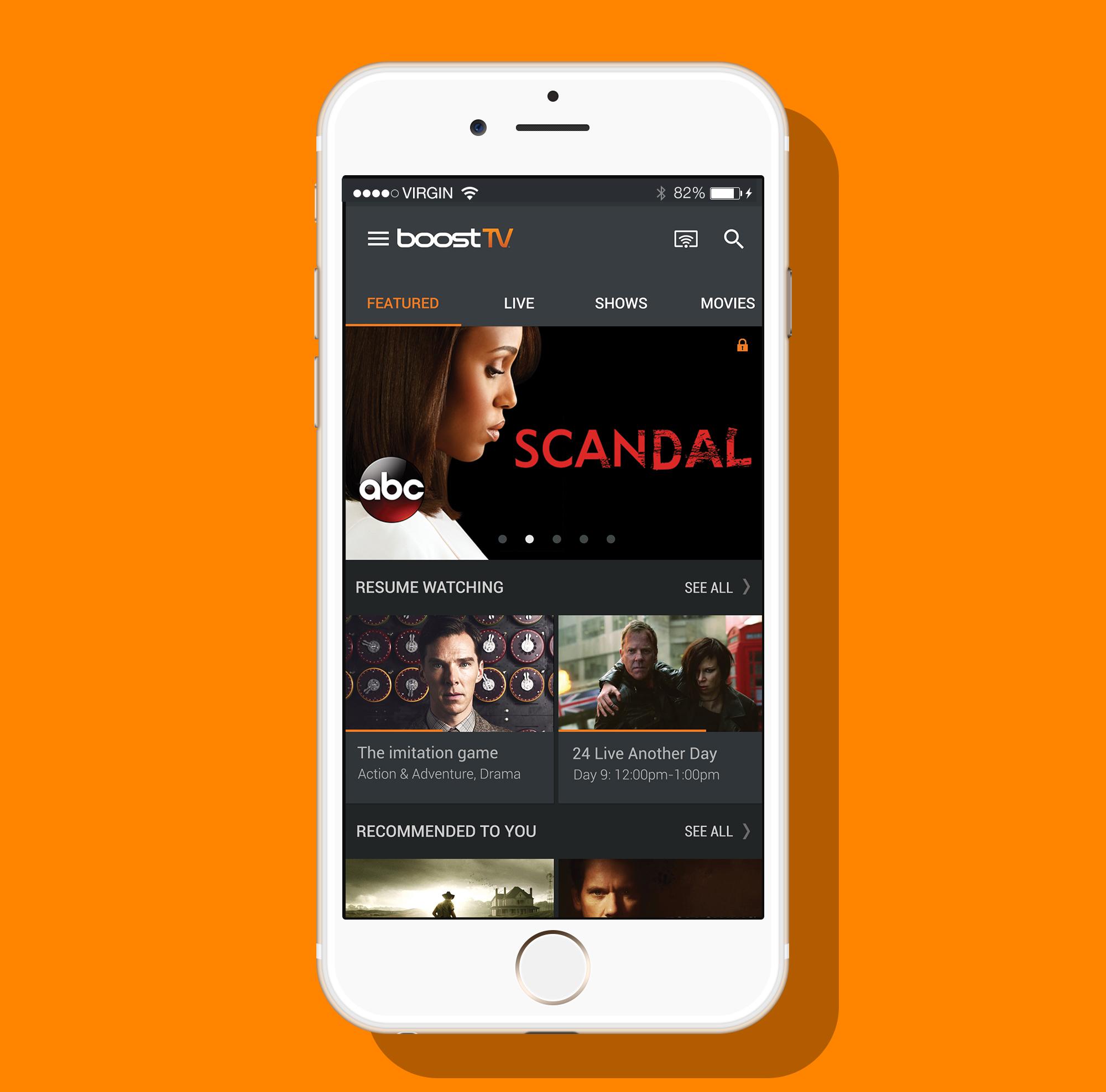 MobiTV app