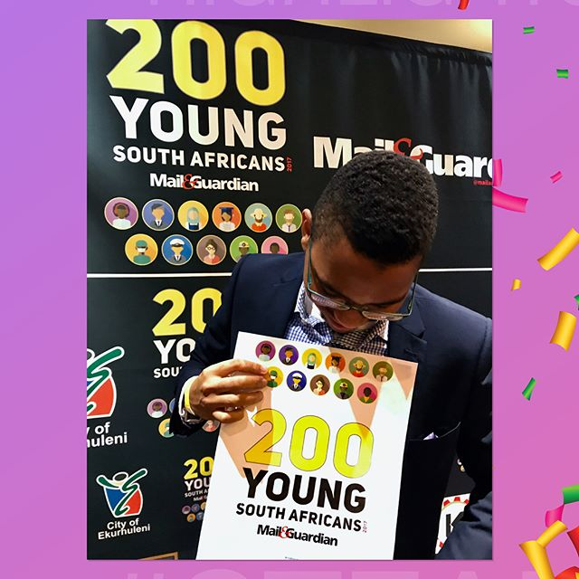 The 4th highlight came in June, when our founder @nthatomoagi was selected as one of the Mail & Guardian Top 200 Young South Africans. 👏🏽🎉🎊 . If you haven't read the feature yet, please do so here: http://ysa.mg.co.za/2017/nthato-moagi/. 🤓 #MG200Young . This was truly a proud moment for CRSP dsgn - ENOUGH SAID! 👊🏽 . #Countdown2CRSP2018 #CRSP2017 #Founders #Innovation #TechStartup  #StartupLife #Startup #Entrepreneurship #Entrepreneur #Engineering #Aerospace #RocketScience #Robotics #STEM #BestNine #BestNine2017 #2017 #2018