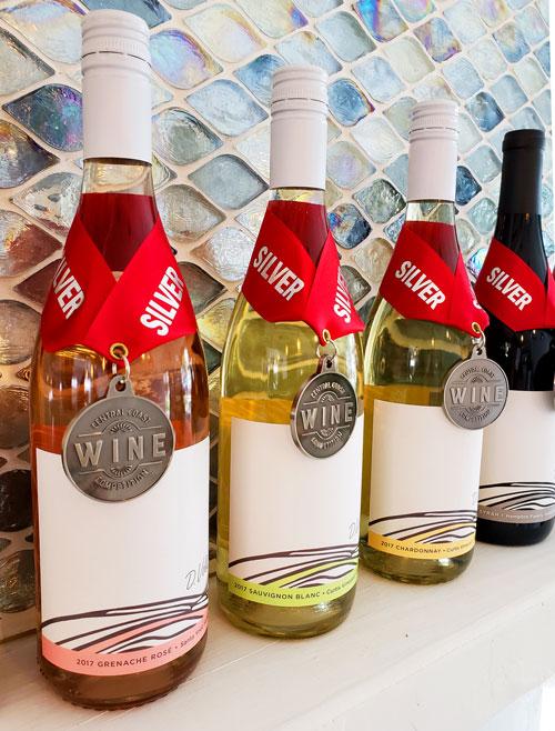 Dana V. Wines' Silver Medal Winning Wines, 2018