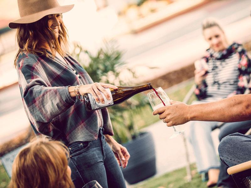 Kick back and enjoy some wine!
